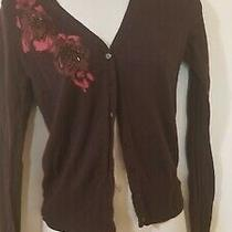 Gap Women's Cardigan Sweater Size Xs Extra Small 100% Cotton Photo