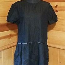 Gap Women's Chambray Short Sleeve Jean Denim Dress Oversized Size Medium M Photo