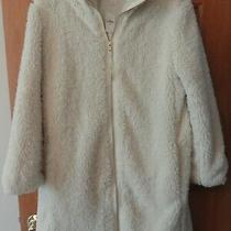Gap Women's Coat Full Zip Sherpa Coat Jacket Ivory White Size Xs Nwts Photo