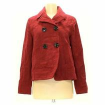 Gap Women's Coat Size S  Maroon Red  Polyester Rayon Viscose Other Photo