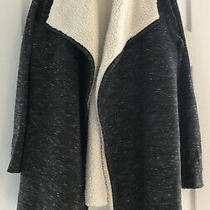 Gap Womens Dark Gray Marled Cardigan Sweater Open Front Size Xs Photo