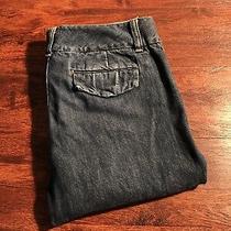 Gap Women's Dark Wash Denim Shorts Size 8 Regular  Photo