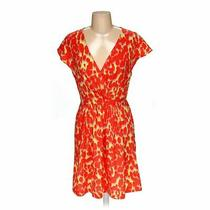 Gap Women's  Dress Size 4  Orange Yellow Pink  Polyester  Good Condition Photo