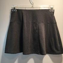 Gap Women's Gray Flare Mini-Skirt Size Xs Photo