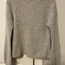 Gap Womens High Neck Wool Blend Sweater Gray Size Xs Photo