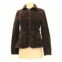 Gap Women's Jacket Size 4  Brown  Cotton Polyester Spandex  Good Condition Photo