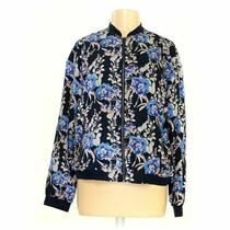 Gap Women's Jacket Size L  Blue/navy  Polyester  Good Condition Photo
