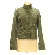 Gap Women's Jacket Size S  Green  Cotton  Good Condition Photo
