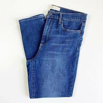 Gap Women's Jean Size 30 True Skinny Super High Rise Crop Stretch Blue Willow  Photo