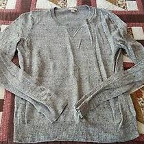 Gap Women's Medium Sweater Mable Gray Knit Guc Photo
