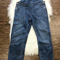 Gap Women's Overalls Denim Blue Carpenter Bibs Size Small Photo