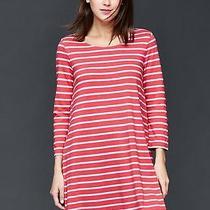 Gap Women's Red Stripe T-Shirt Dress Size M Photo