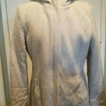 Gap Women's Size Medium Wool Hooded Peacoat / Zip & Snap Front Jacket  Photo