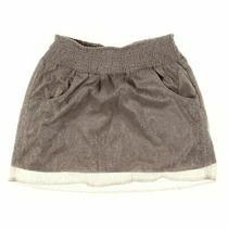 Gap Women's Skirt Size S  Beige Gold  Metallic Nylon Polyester Photo