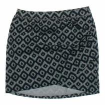 Gap Women's  Skirt Size Xs  Grey Blue/navy  Free Spirit  Polyester Photo