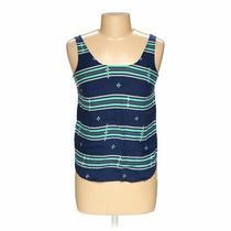 Gap Women's  Sleeveless Top Size Xs  Blue/navy Turquoise  Americana Girl Photo