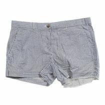 Gap Women's Striped Shorts Size 6  Grey  Cotton  Good Condition Photo
