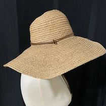 Gap Women's Wide Brim Straw Hat S/m Photo