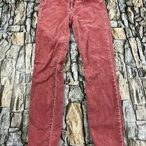 Gap Women Size 28 Petite Modern Stretch True Skinny Pink Corduroy Pants Photo