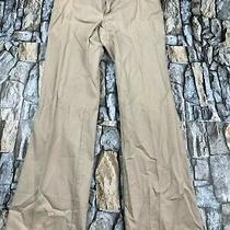 Gap Women Size 4 Ankle Beige Chino Pants Euc Photo