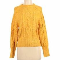 Gap Women Yellow Pullover Sweater Xs Photo