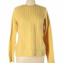 Gap Women Yellow Wool Pullover Sweater L Photo