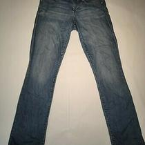 Gap Womens 1969 Real Straight Blue Denim Jeans Size 28/6 Photo
