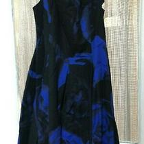 Gap Womens Black/blue Dress 18 Photo