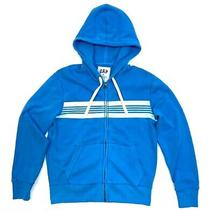 Gap Womens Blue Sample Hoodie Zip Closure Front Pockets  Size M Photo