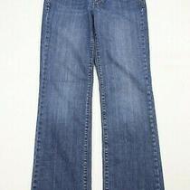 Gap Womens Bootcut Jeans Size 6 Blue Denim   30.5 Inseam Photo