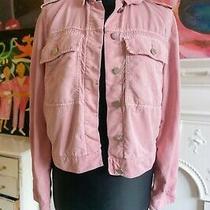 Gap Womens Bubblegum Pink Jacket Used Size S ( Uk 8 - 10 )  Photo
