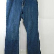 Gap Womens Curvy Bootcut Denim Jeans Size 16 Regular Blue Photo