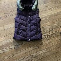 Gap Womens Eggplant Down Vest Small Photo