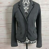 Gap Womens  Gray Academy Blazer Size 8 Photo