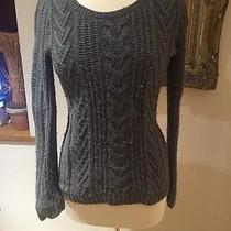 Gap Womens Grey Sweater Cable Knit Photo
