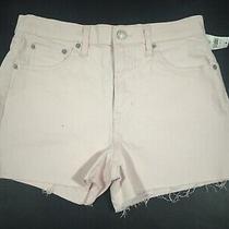 Gap Womens Pale Pink Denim Shorts 3