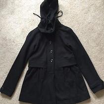 Gap Womens Peacoat W/ Detachable Hoodie Size Xs Photo