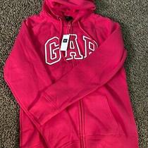 Gap Womens Pink Long Sleeve Jacket Hoodie Size Xs Photo