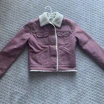 Gap Womens Sherpa Lined Denim Jacket Size Xs Photo