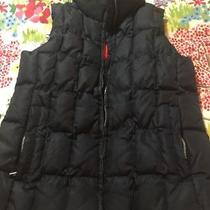 Gap Womens Size Small Black Quilted Vest Photo