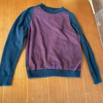 Gap Womens Sweater - Navy Blue and Maroon - Small Photo