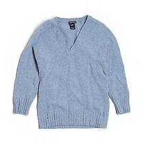 Gap Wool Sweater Sm Solid v Neck Photo