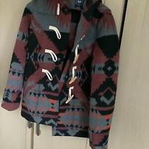 Gap Zipped Hooded Coat With Toggles Size M Photo