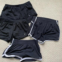 Gapfit Gstride and Old Navy Active Shorts Lot of 4 Black Womens Size Small Photo