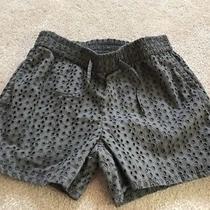 Gapkids Grey Eyelet Elastic Waist Shorts Size Xl (12) Photo