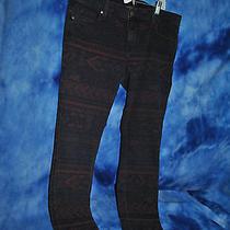 Genetic Denim Jeans War Paint Pattern Size 31 Nwt Sb Photo