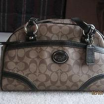 Gently Used Authentic Coach Brown Satchel Excellent Condition Photo