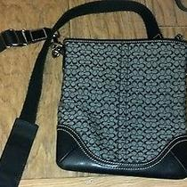 Gently Used Black Coach Satchel Photo