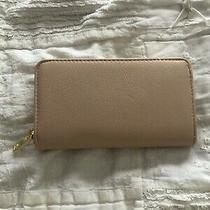 Gently Used Blush and Gold Long Wallet and Wrist Let Photo