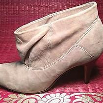 Gently Worn Aldo Grey Suede Slouch Boots Size 39 Photo